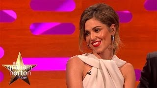 Cheryl Cole Shows Off New Bum Tattoo - The Graham Norton Show