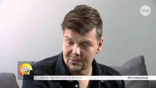Michał Figurski - pierwszy wywiad po ciężkiej chorobie (Dzień Dobry TVN)