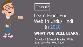 How to create a web page using html and css in urdu/hindi 2018 | Part 1 | Guide for beginners