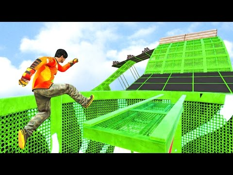 EXTREME PARKOUR GTA 5 Funny Moments 682