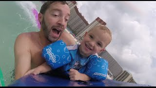 Father Son Boogie Board Time!