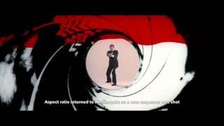 James Bond Gunbarrels - Dr. No to SPECTRE 1962 - 2015 || HD