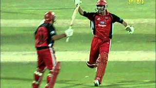 Most unlikely 6 off the last ball to win a match- RYAN HARRIS THE LEGEND!