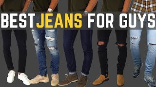 TOP 6 MUST HAVE Jeans for Guys   Best FITTING Affordable denim
