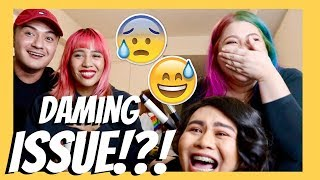 *drunk* PASS or COLLAB (Daming CHISMIS! lagot ) with Ronan, James & Jessica | Teena Arches
