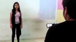 Balaji telifilm ke liye hua audition