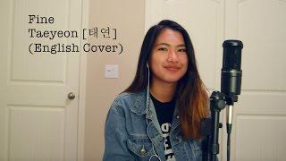 taeyeon fine english cover