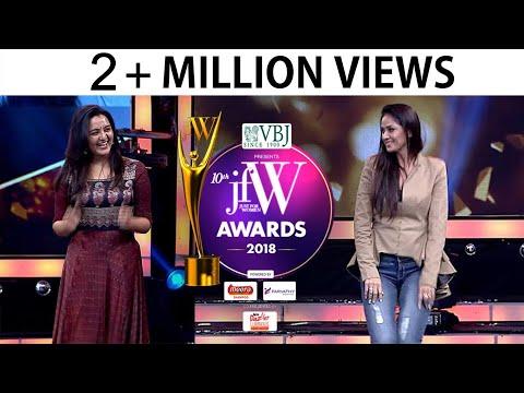 Xxx Mp4 Simran And Manju Warrier Dance At JFW Awards 2018 3gp Sex
