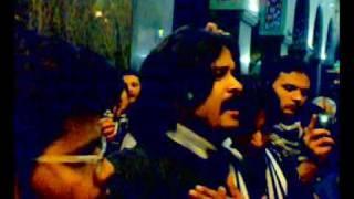 noke naiza pe theher ta nahi abbas ka sir by irfan haider in shaam 2010