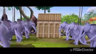 Bangla funny video|আমরা করবো জয় | by moto patlu king of kings video song