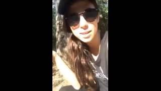 Ally & Stevie Snapchat 5-19