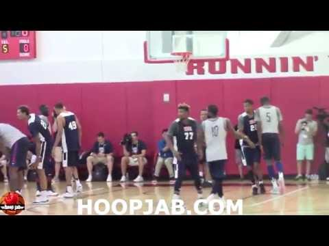 watch Team USA Basketball Training Camp 2016 Day 2 Scrimmage. Rio 2016 Olympic Games