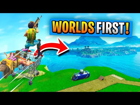 WORLD S 1st SPAWN ISLAND AND BACK TRIP In Fortnite Battle Royale