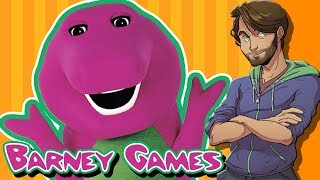 Barney the Dinosaur Games - SpaceHamster