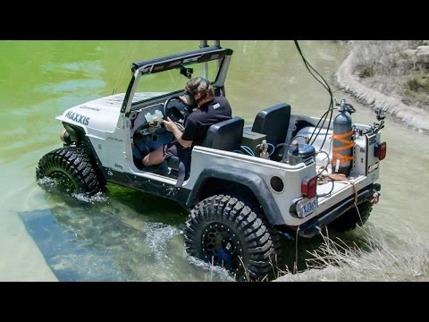 Diesel Jeep Drives 12 Feet Underwater Dirt Every Day Ep. 54