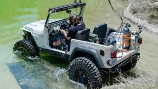 Diesel Jeep Drives 12 Feet Underwater! - Dirt Every Day Ep. 54
