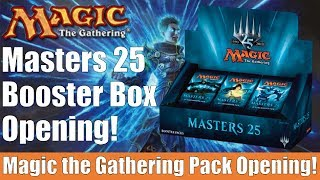 MTG Masters 25 Booster Box Opening and Impressions