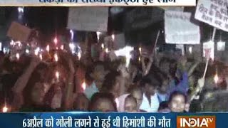 Himanshi Kashyap Case: Candle-light Protest March against Dowry Death