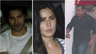 Katrina, Varun And Other Celebs Give A Warm Welcome To Salman After His Bail In Blackbuck Case