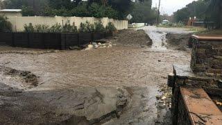 Santa Clarita Floods - Flash Floods - Evacuations