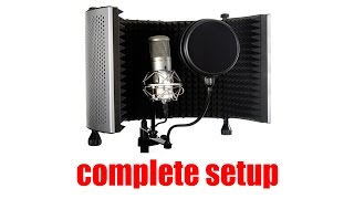 Recording Vocals: Home Studio Method For Singers and Rappers [ Part 1 ]