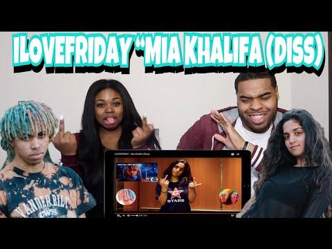 Xxx Mp4 ILOVEFRIDAY Mia Khalifa Diss 😱 REACTION 3gp Sex