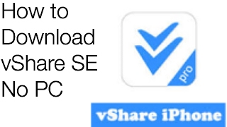 How to download vShare SE without computer link-live