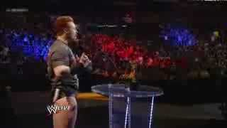 Sheamus represent the Newcomer of the Year 2012 Slammy Award  - WWE Raw 12_17_12