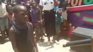 Zambian kids killing it in a cypher
