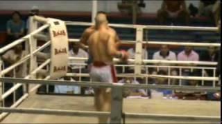 Patrik Z. (CH) vs Gil (FR) 27.11.09 Bangla Boxing Stadium Patong