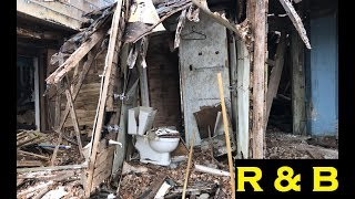 This Abandoned House #65 is WRECKED beyond trash