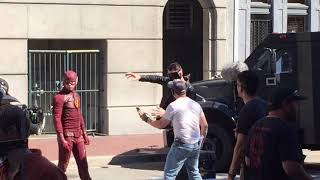Behind the Scenes Filming The FLASH Season 5