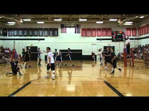 2010 ILH Boys Volleyball 'Iolani vs. Punahou Part 2