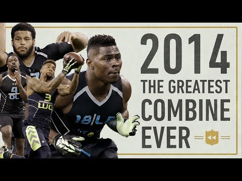 The Most Star Studded Combine in NFL History Vault Stories