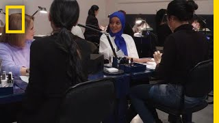 Breaking Barriers as a Muslim Model   America Inside Out With Katie Couric