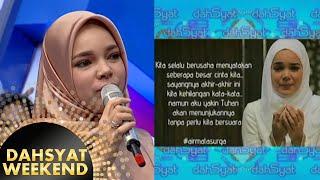 Kata-kata mengharukan dari Dewi Sandra di film 'Air Mata Surga' [Dahsyat] [8 Nov 2015]