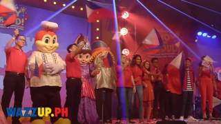 Ang Sarap Maging Pilipino Video by Rachelle Ann Go and Darren Espanto at Jollibee Grand Independence