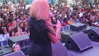 WE OPENED UP FOR CARDI B AND KODAK BLACK! (we was so nervous)