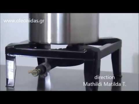 Εστία Υγραερίου Μονή διαστ. 40x40x18 cm - 1 Burner LPG or Gas Boiling Top