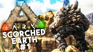 ARK Scorched Earth DLC: Episode 1 -DEATH WORM, GOLEM, WYVERN, DRAGONS (Ark: Survival Evolved)