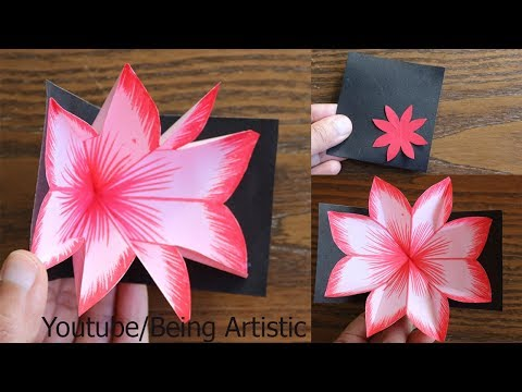 Xxx Mp4 DIY Flower Pop Up Card Paper Crafts Handmade Craft 3gp Sex