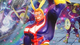 USING ONE FOR ALL TO HELP ME THROUGH RANKED! All Might DLC Gameplay (Jump Force Online Ranked)