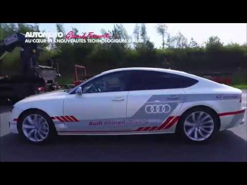 Les secrets d Audi la voiture qui roule toute seule