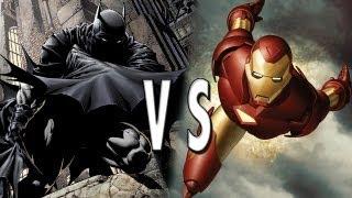 Batman VS Iron Man: Epic Battle!