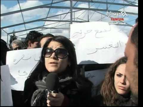 Arbi Nasra organise sa propre propagande 23 Janvier 2011   Part 1