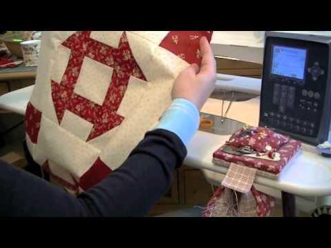 Comment faire du patchwork machine