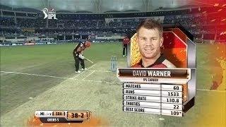 David Warner Brillant IPL 2014 CSK Batting   SRH vs CSK Highlights IPL 2014 10 May   IPL 7 2014