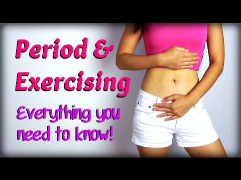 Period & Exercising: Everything you need to know!