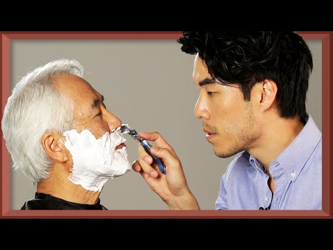 The Try Guys Shave Their Dads • Fatherhood Part 4