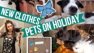 Taking My Pets On Holiday & Clothing Try On
